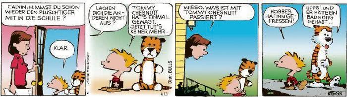 Calvin vom 21.09.2020