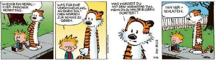 Calvin vom 02.10.2020