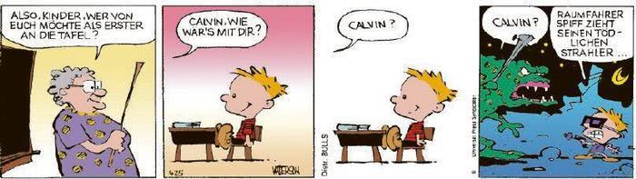 Calvin vom 13.10.2020