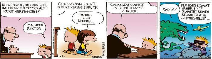 Calvin vom 28.10.2020