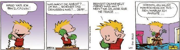 Calvin vom 29.10.2020