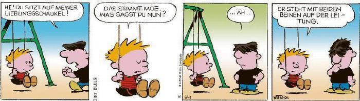 Calvin vom 04.11.2020
