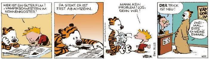 Calvin vom 25.11.2020