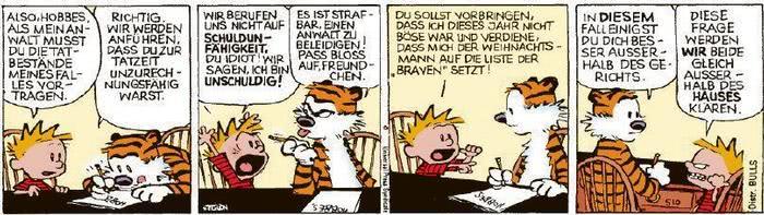 Calvin vom 15.12.2020