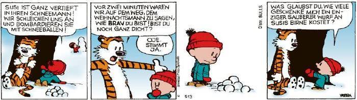 Calvin vom 18.12.2020