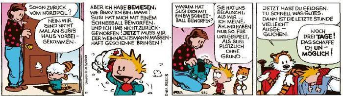 Calvin vom 23.12.2020