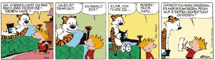 Calvin vom 13.01.2021