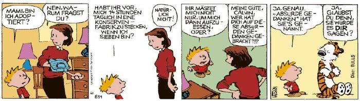 Calvin vom 14.01.2021