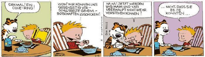 Calvin vom 25.01.2021