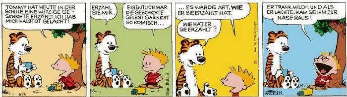 Calvin vom 09.02.2021