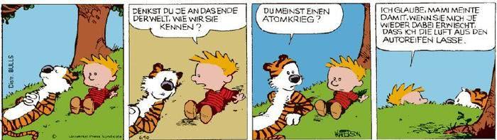 Calvin vom 15.02.2021
