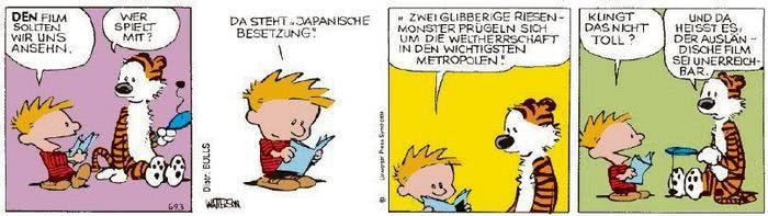 Calvin vom 18.02.2021
