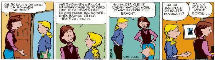 Calvin vom 19.02.2021