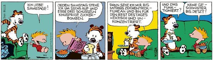 Calvin vom 03.03.2021