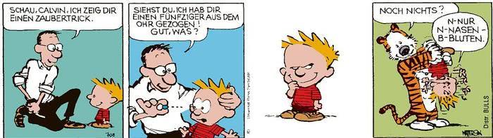 Calvin vom 11.03.2021
