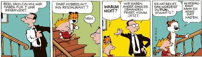 Calvin vom 18.03.2021