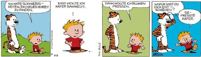 Calvin vom 24.03.2021