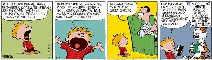 Calvin vom 25.03.2021