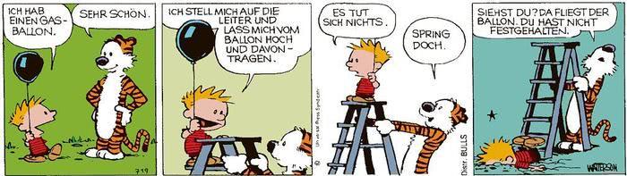 Calvin vom 26.03.2021