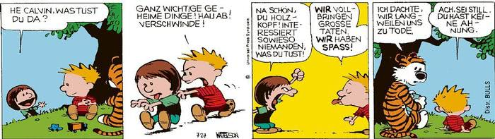 Calvin vom 30.03.2021