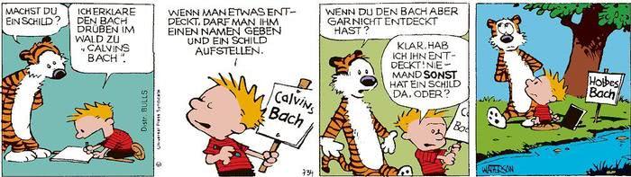 Calvin vom 12.04.2021