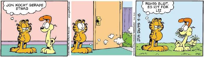 Garfield vom 30.04.2018