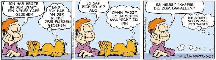 Garfield vom 03.05.2018