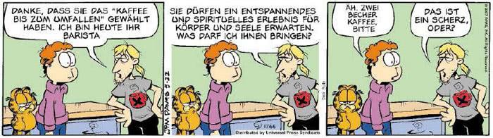 Garfield vom 04.05.2018