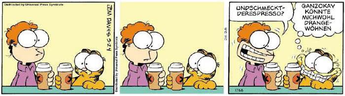 Garfield vom 08.05.2018