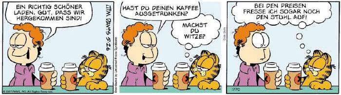 Garfield vom 11.05.2018