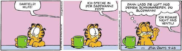 Garfield vom 14.05.2018
