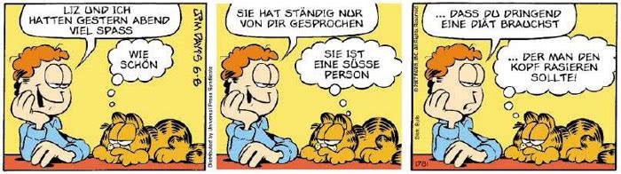 Garfield vom 29.05.2018