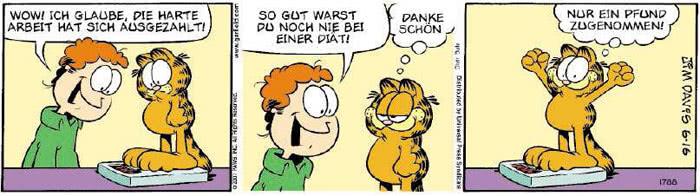 Garfield vom 07.06.2018