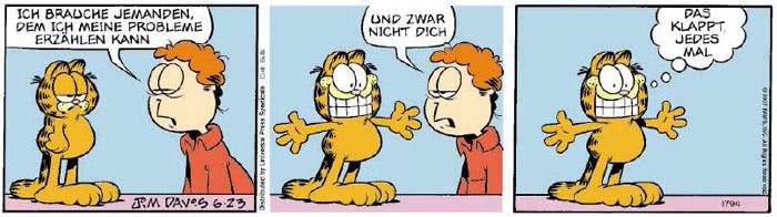 Garfield vom 15.06.2018