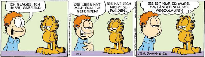 Garfield vom 19.06.2018