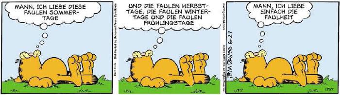 Garfield vom 20.06.2018