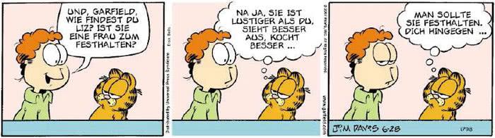 Garfield vom 21.06.2018