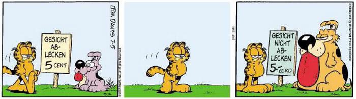 Garfield vom 29.06.2018