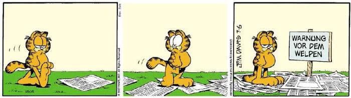 Garfield vom 02.07.2018