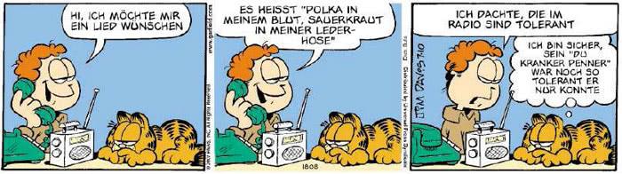 Garfield vom 05.07.2018