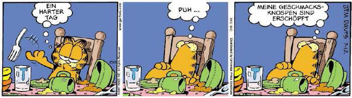 Garfield vom 09.07.2018