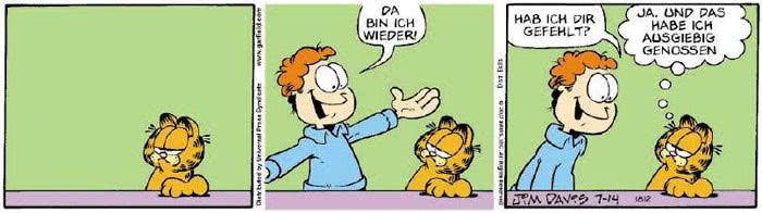 Garfield vom 11.07.2018