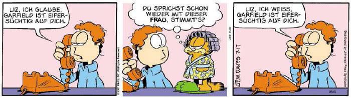 Garfield vom 13.07.2018