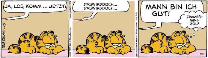 Garfield vom 24.07.2018