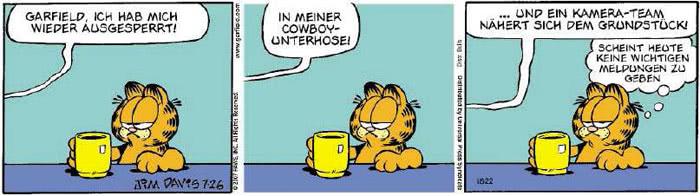 Garfield vom 25.07.2018