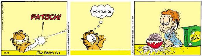 Garfield vom 02.08.2018
