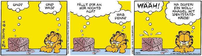 Garfield vom 03.08.2018