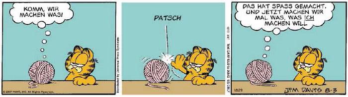 Garfield vom 06.08.2018