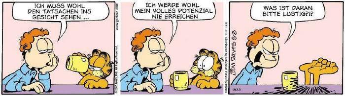 Garfield vom 09.08.2018