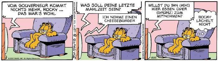 Garfield vom 13.08.2018